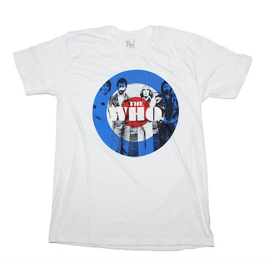 Cage The Elephant T Shirt | The Who Circle T-Shirt