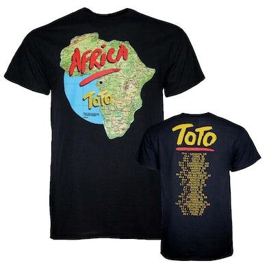 Toto T Shirt | Toto Africa Tour T-Shirt