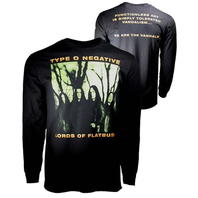 Type O Negative T Shirt | Type O Negative October Rust Long Sleeve T-Shirt