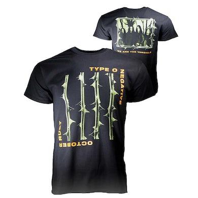 Type O Negative T Shirt   Type O Negative October Rust T-Shirt