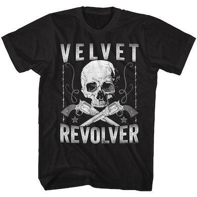 Velvet Revolver T Shirt | Velvet Revolver Revolvers T-Shirt