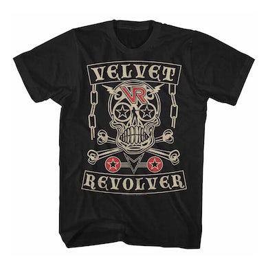 Velvet Revolver T Shirt | Velvet Revolver Skull T-Shirt