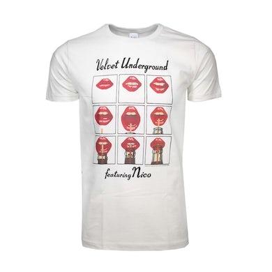 Velvet Revolver T Shirt | Velvet Underground Featuring Nico Lips T-Shirt