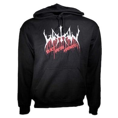 Black Metal Madness Pullover Hoodie Sweatshirt
