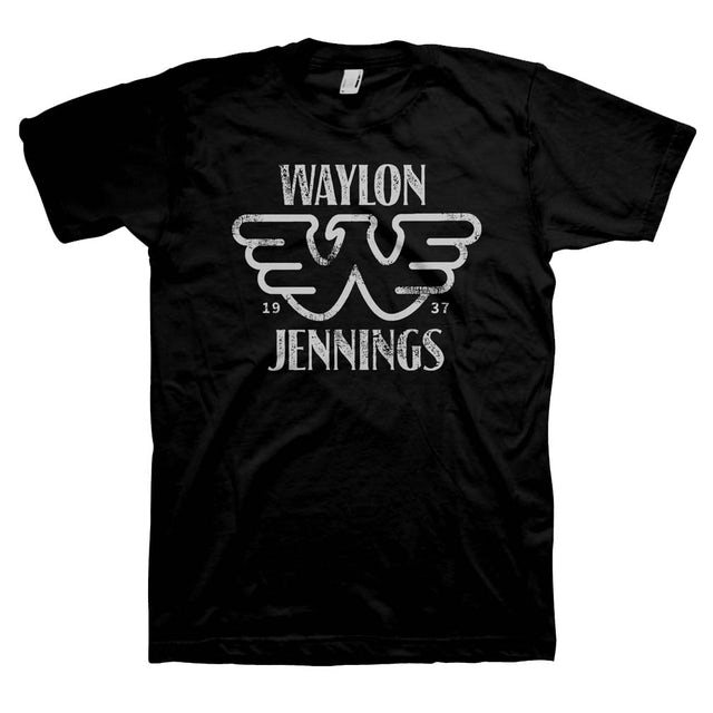 Waylon Jennings T Shirt   Waylon Jennings Established T-Shirt