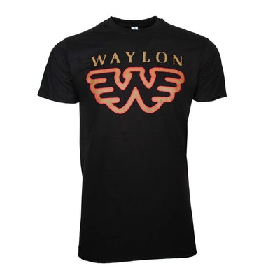 Waylon Jennings T Shirt | Waylon Jennings Flying W T-Shirt
