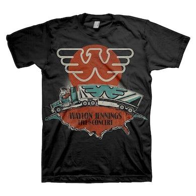 T Shirt | Waylon Jennings Live T-Shirt