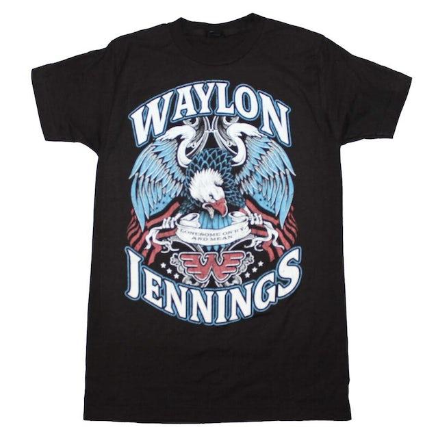 Waylon Jennings T Shirt | Waylon Jennings Lonesome T-Shirt