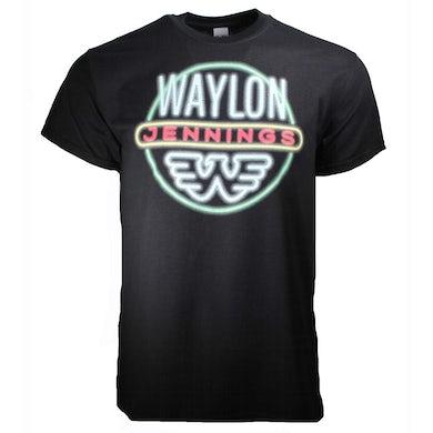 T Shirt | Waylon Jennings Neon T-Shirt