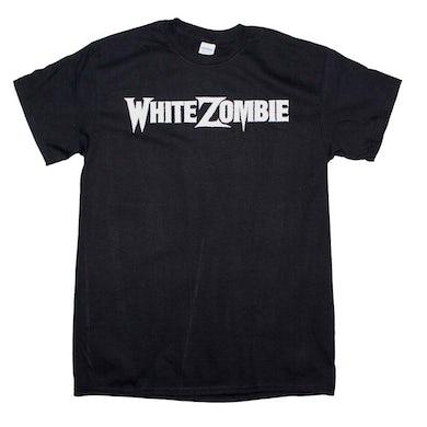 White Zombie T Shirt | White Zombie OG Logo T-Shirt