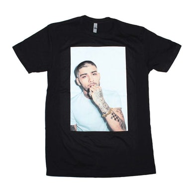 Zayn Malik T Shirt | Zayn White on White Photo T-Shirt