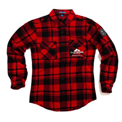 Sidewalk Prophets Be Strong Brand Co. Flannel