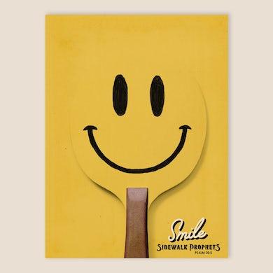 Sidewalk Prophets Smile Limited Edition Poster
