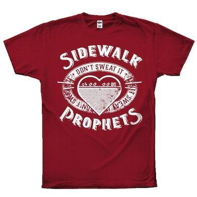 Sidewalk Prophets Don't Sweat It Tee (Brand New)