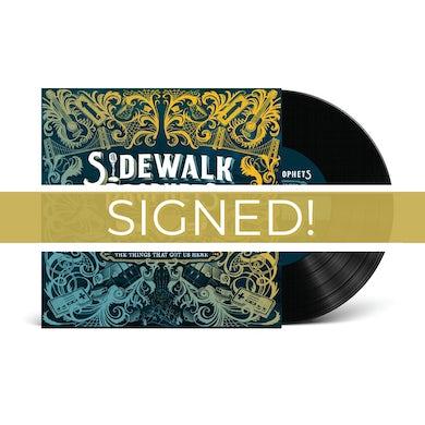 Sidewalk Prophets The Things That Got Us Here [Signed!] (Vinyl Album)
