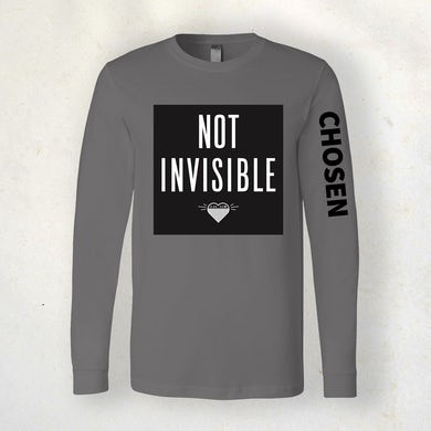 Sidewalk Prophets Not Invisible (Chosen) Long Sleeve Tee