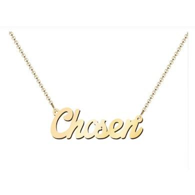 Sidewalk Prophets Custom Chosen Necklace