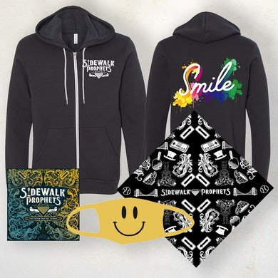Smile Zip Up Hoodie Bundle