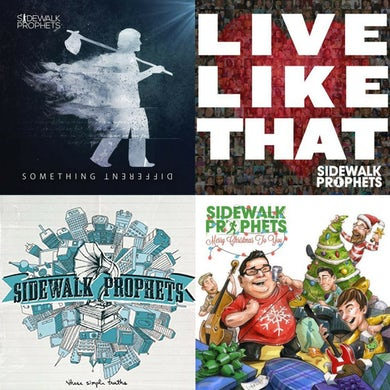 Sidewalk Prophets CD Bundle
