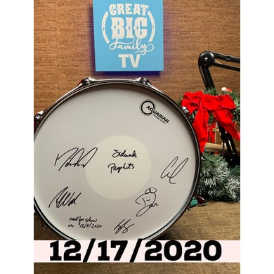 Sidewalk Prophets WFL III Snare Drum 12/17/2020 (Autographed!) [Great Big Family Christmas 2020]