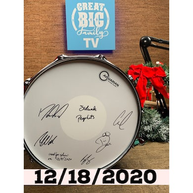 WFL III Snare Drum 12/18/2020 (Autographed!) [Great Big Family Christmas 2020]
