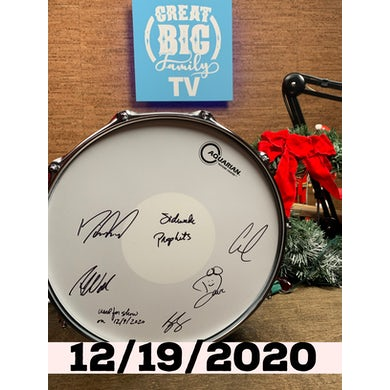 Sidewalk Prophets WFL III Snare Drum 12/19/2020 (Autographed!) [Great Big Family Christmas 2020]