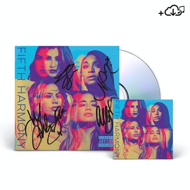 Fifth Harmony AUTOGRAPHED CD + Download
