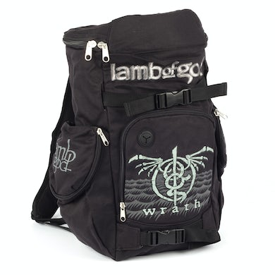 Lamb of God Wrath Insignia Back Pack