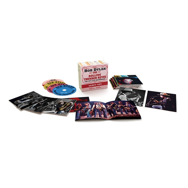 Bob Dylan The Rolling Thunder Revue: The 1975 Live Recordings 14-CD Box Set