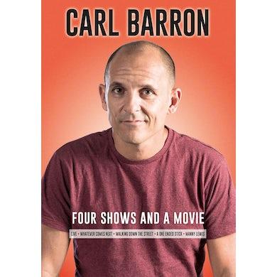 Carl Barron - Four Shows & A Movie DVD Set