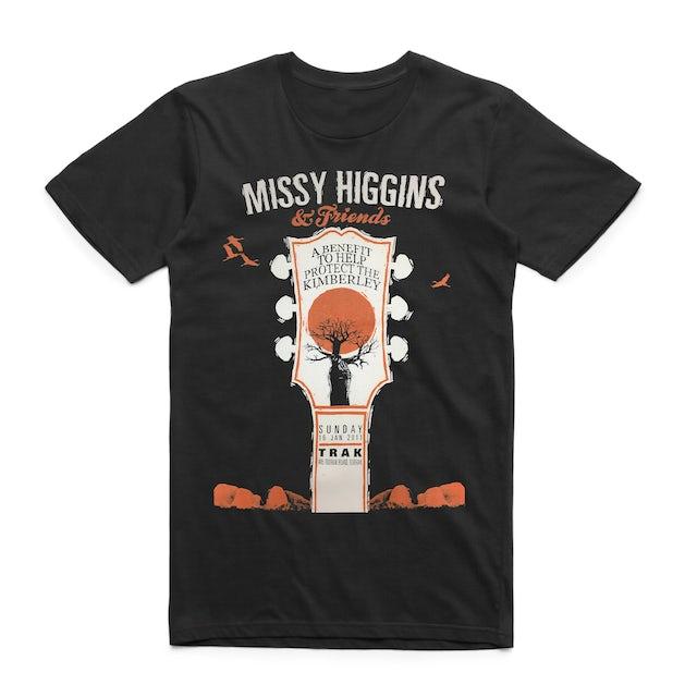 Missy Higgins - Kimberley Benefit Black Tee
