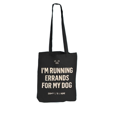 Sydney Dogs and Cats Home - Errands for my Dog Black Tote