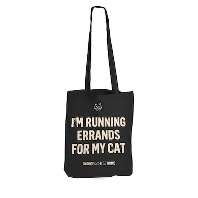 Sydney Dogs and Cats Home - Errands for my Cat Black Tote