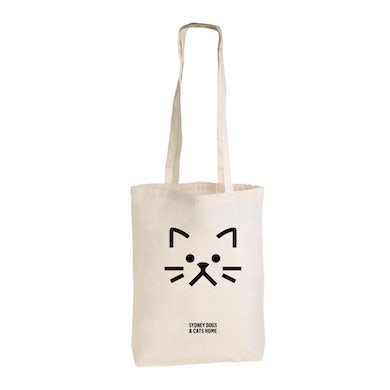 Sydney Dogs and Cats Home - Cat Face Tote
