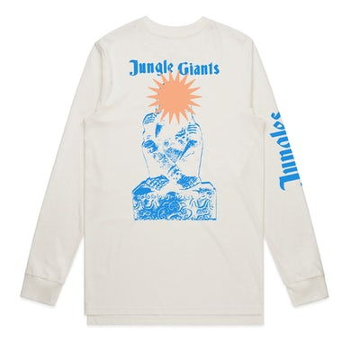 The Jungle Giants - Natural Logo Longsleeve Tee