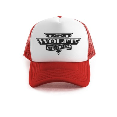 The Wolfe Brothers - Red Trucker Cap