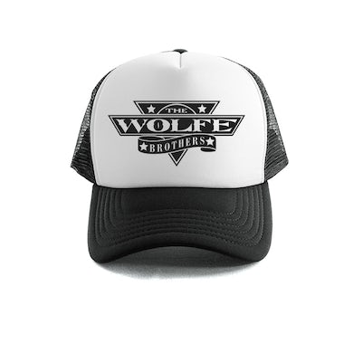 The Wolfe Brothers - Black Trucker Cap