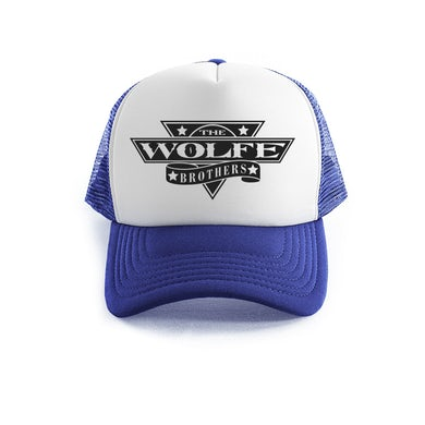 The Wolfe Brothers - Blue Trucker Cap