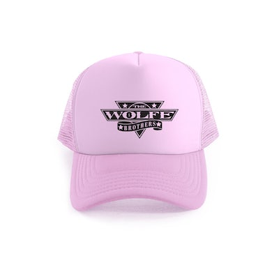 The Wolfe Brothers - Pink Trucker Cap