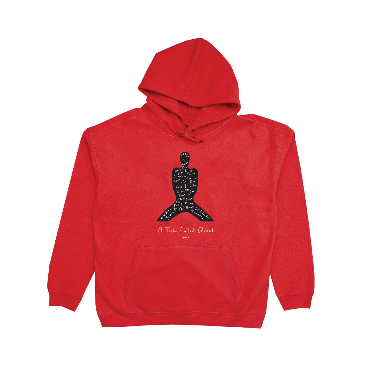 WU TANG RAP//HIP-HOP BLACK MIDNIGHT MARAUDERS EMBROIDERED HOODIE ALL SIZES