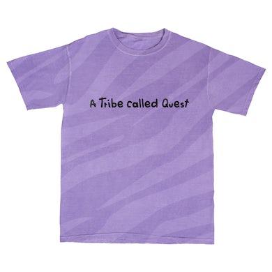 Midnight Marauders 93 Purple Tiger Stripe T-shirt