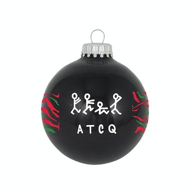 """A Tribe Called Quest 3 1/4"""" Glass Ornament"""