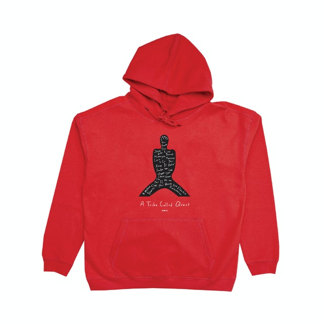 A Tribe Called Quest Midnight Marauders Red Pullover Hoodie
