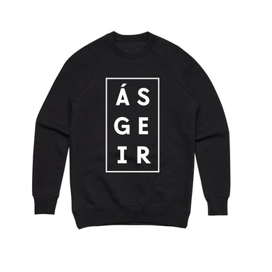 Asgeir Afterglow / Black Crew Sweater