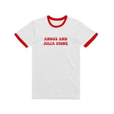 Angus & Julia Stone Angus and Julia / Red Ringer T-shirt