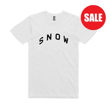 Angus & Julia Stone Snow  / White T-shirt
