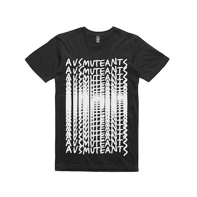 Ausmuteants Repeat  / Black T-shirt