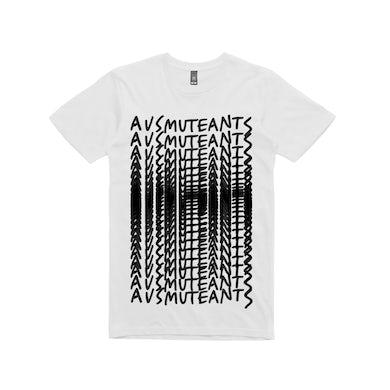 Ausmuteants Repeat  / White T-shirt