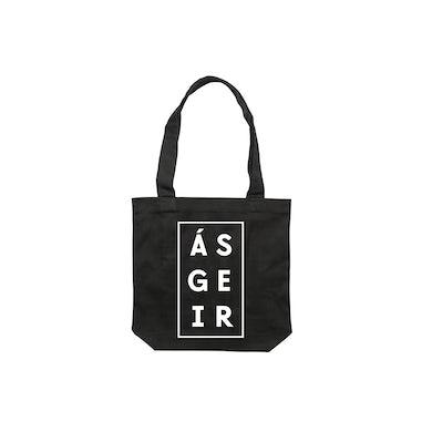 Afterglow / Black Tote Bag