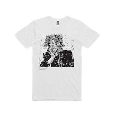 Woodcut / t-shirt white